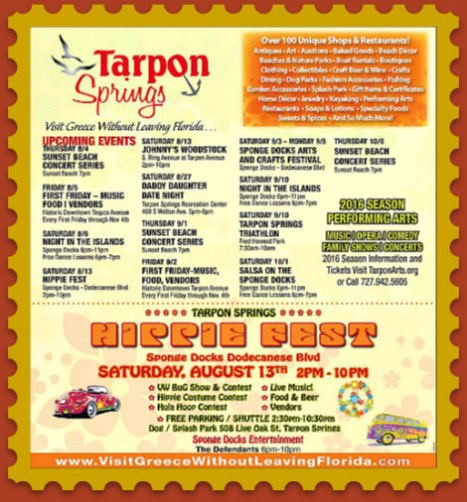 Tarpon Springs HippieFest 2016