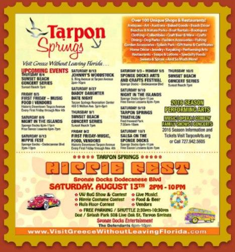 Tarpon Springs HippieFest 2016